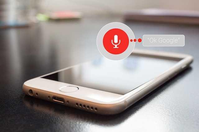 Recherche vocale et Google